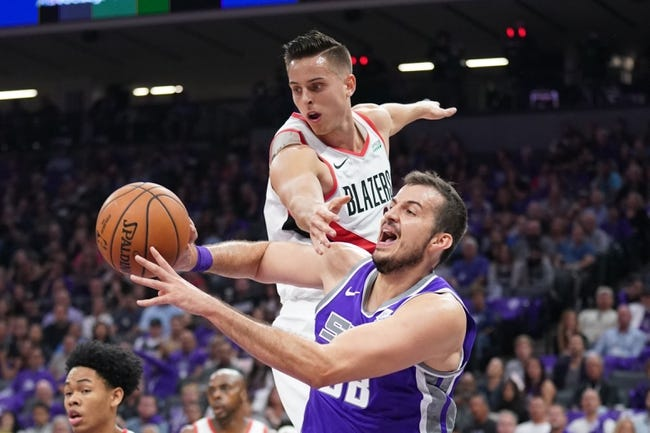Portland Trail Blazers at Sacramento Kings - 1/9/21 NBA Picks and Prediction