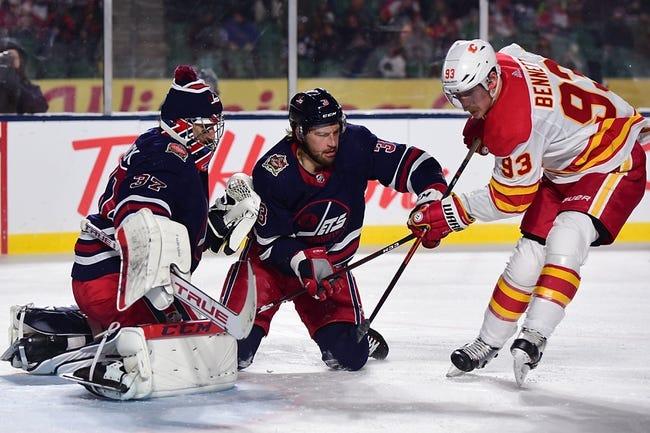 Calgary Flames at Winnipeg Jets - 1/14/21 NHL Picks and Prediction