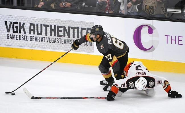 Vegas Golden Knights vs Anaheim Ducks NHL Picks, Odds, Predictions 1/14/21