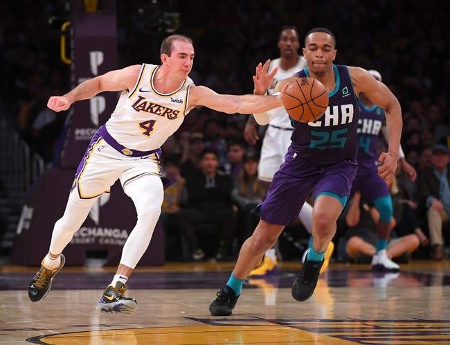 Charlotte Hornets at Los Angeles Lakers - 3/18/21 NBA Picks and Prediction