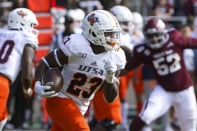 Louisiana-Lafayette at UTSA: 12/26/20 College Football Picks and Prediction
