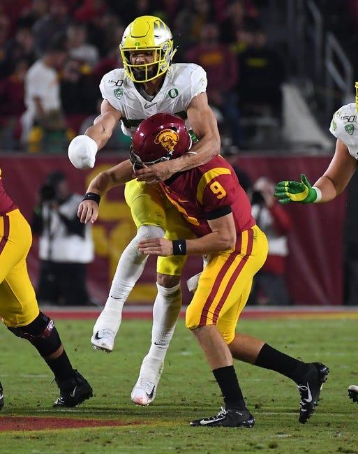 Tony T's Oregon vs. USC TOTAL 12-18-2020