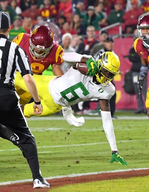 Pac 12 Championship Oregon / USC