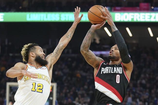 Golden State Warriors vs Portland Trail Blazers NBA Picks, Odds, Predictions 1/3/21