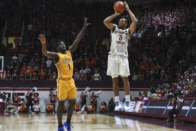 Virginia Tech vs Coppin State College Basketball Picks, Odds, Predictions 12/19/20