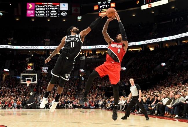 Brooklyn Nets at Portland Trail Blazers - 3/23/21 NBA Picks and Prediction