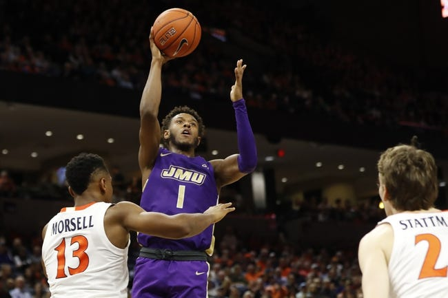 James Madison Dukes at Northeastern Huskies - 1/24/21 College Basketball Picks and Prediction
