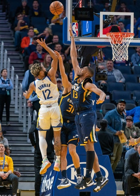 NBA High Grade Value Bet - Grade B - UTAH/GOLDENST TOTAL