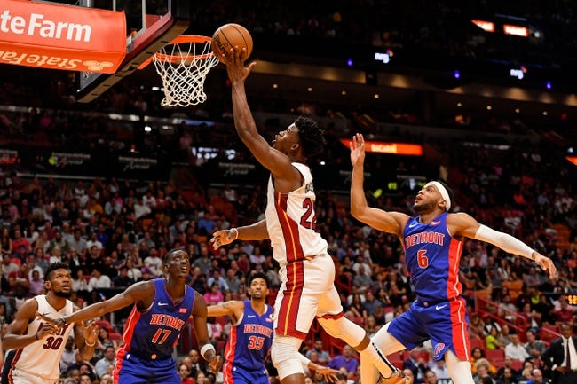 Detroit Pistons at Miami Heat - 1/16/21 NBA Picks and Prediction