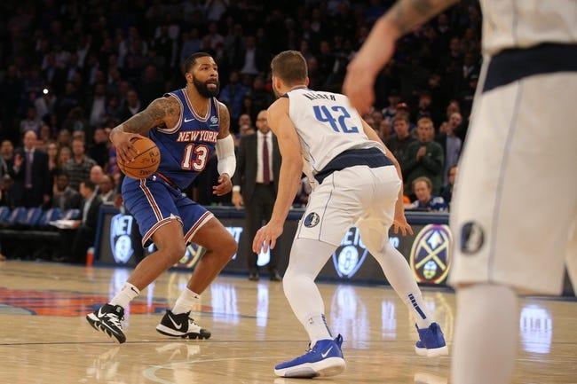 Dallas Mavericks at New York Knicks - 4/2/21 NBA Picks and Prediction