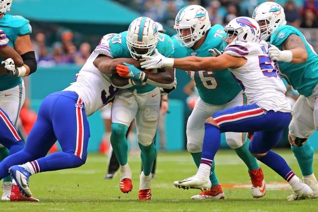 NFL Week 17 Picks: Buffalo Bills vs Miami Dolphins 1/3/21 NFL Picks, Odds, Predictions