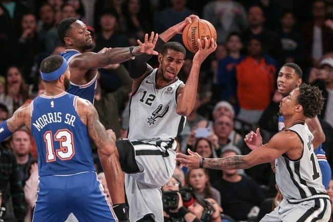 New York Knicks at San Antonio Spurs - 3/2/21 NBA Picks and Prediction