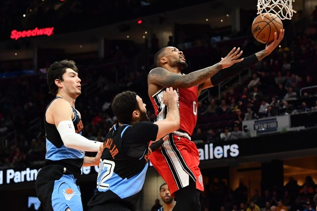 Cleveland Cavaliers at Portland Trail Blazers - 2/12/21 NBA Picks and Prediction