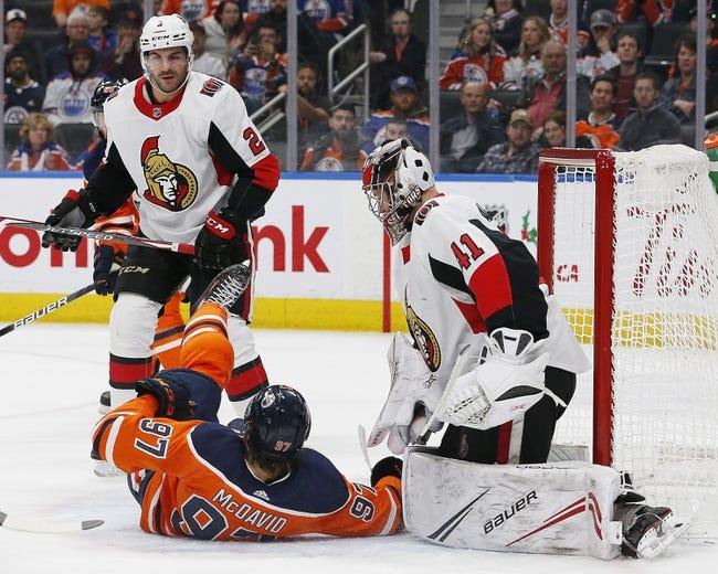 Edmonton Oilers vs Ottawa Senators NHL Picks, Odds, Predictions 1/31/21