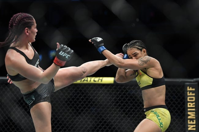 UFC Fight Island 8: Roxanne Modafferi vs. Viviane Araujo Picks and Predictions