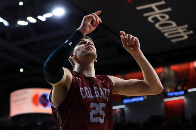 Loyola-Maryland at Colgate - 3/14/21 College Basketball Picks and Prediction