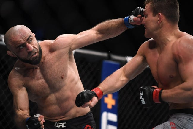 UFC Fight Island 7: Omari Akhmedov vs. Tom Breese Picks, Odds and Predictions