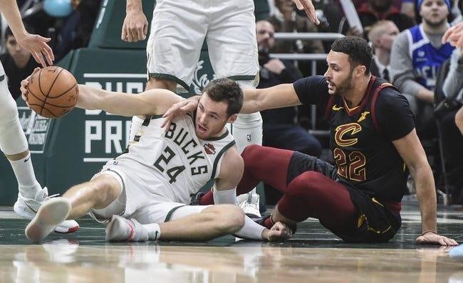 Cleveland Cavaliers at Milwaukee Bucks - 1/9/21 NBA Picks and Prediction