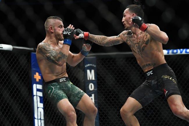 UFC Fight Island 7: Max Holloway vs. Calvin Kattar Picks, Odds and Predictions