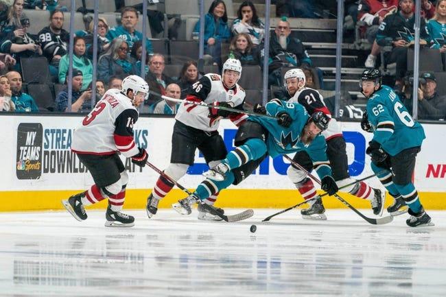 San Jose Sharks at Arizona Coyotes - 1/14/21 NHL Picks and Prediction