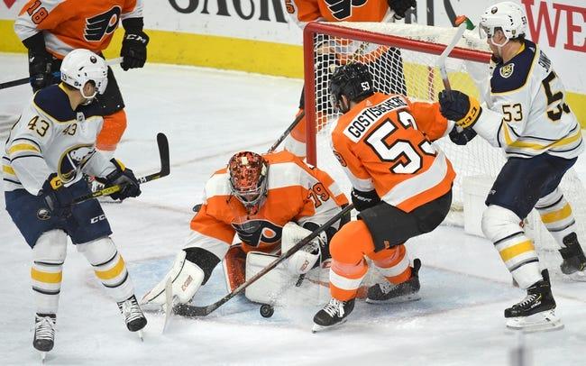 Philadelphia Flyers vs Buffalo Sabres NHL Picks, Odds, Predictions 1/18/21