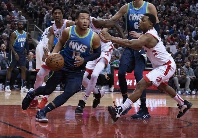 Dallas Mavericks at Toronto Raptors - 1/18/21 NBA Picks and Prediction