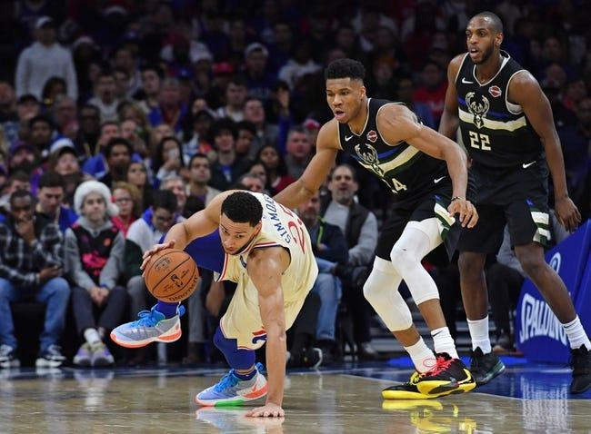 Milwaukee Bucks at Philadelphia 76ers - 3/17/21 NBA Picks and Prediction