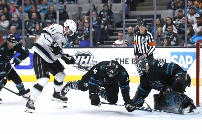 Los Angeles Kings vs San Jose Sharks NHL Picks, Odds, Predictions 2/9/21