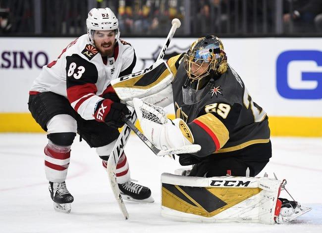 Vegas Golden Knights vs Arizona Coyotes NHL Picks, Odds, Predictions 1/18/21