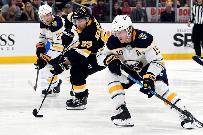 Boston Bruins vs Buffalo Sabres NHL Picks, Odds, Predictions 3/27/21
