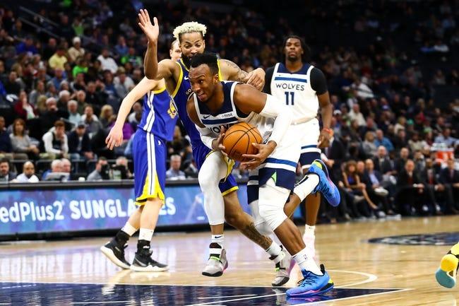 Minnesota Timberwolves at Golden State Warriors - 1/25/21 NBA Picks and Prediction