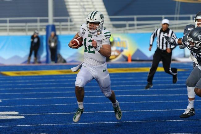 Ohio at Louisiana:  9/16/21 College Football Picks and Predictions
