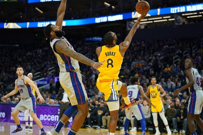 Detroit Pistons vs Golden State Warriors NBA Picks, Odds, Predictions 12/29/20
