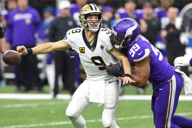 Week 16 NFL Picks: New Orleans Saints vs Minnesota Vikings 12/25/20 NFL Picks, Odds, Predictions