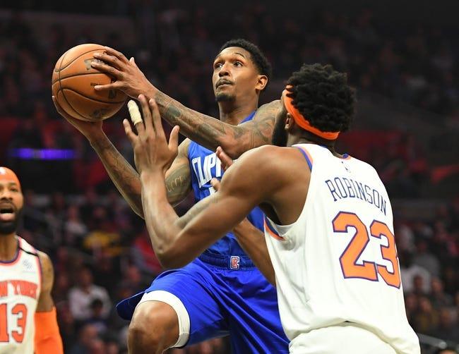 New York Knicks vs Los Angeles Clippers NBA Picks, Odds, Predictions 1/31/21