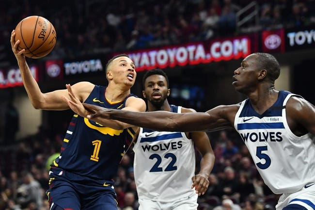 Cleveland Cavaliers at Minnesota Timberwolves - 1/31/21 NBA Picks and Prediction