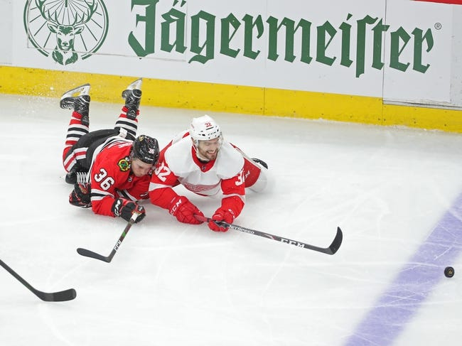 Chicago Blackhawks vs Detroit Red Wings NHL Picks, Odds, Predictions 1/22/21