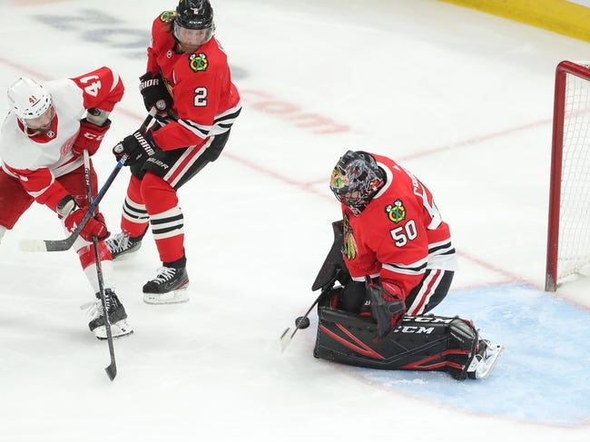 Detroit Red Wings at Chicago Blackhawks - 1/22/21 NHL Picks and Prediction