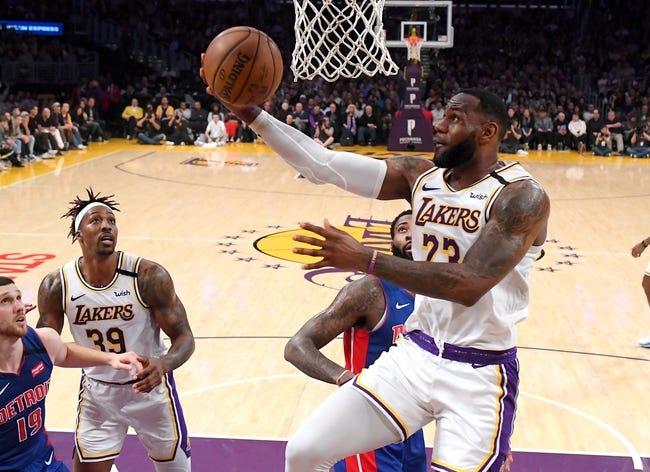 Detroit Pistons vs Los Angeles Lakers NBA Picks, Odds, Predictions 1/28/21