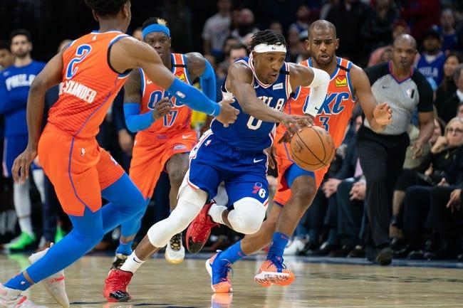 Oklahoma City Thunder vs Philadelphia 76ers NBA Picks, Odds, Predictions 4/10/21