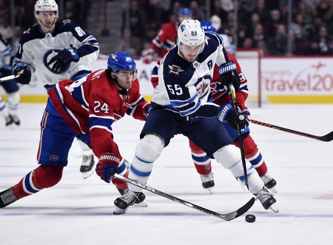 Winnipeg Jets vs Montreal Canadiens NHL Picks, Odds, Predictions 2/25/21