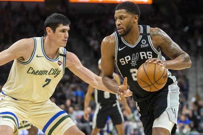 San Antonio Spurs at Milwaukee Bucks - 3/20/21 NBA Picks and Prediction