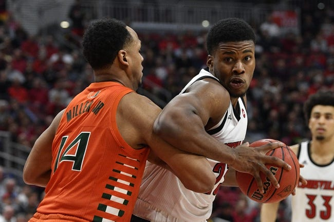 Louisville at Miami: 1/16/21 College Basketball Picks and Predictions