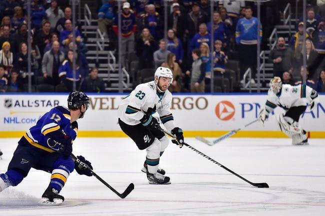 St. Louis Blues vs San Jose Sharks NHL Picks, Odds, Predictions 1/18/21