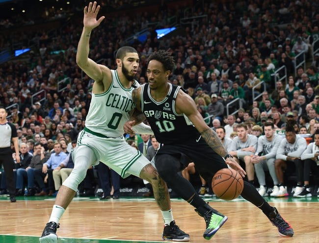 Boston Celtics at San Antonio Spurs - 1/27/21 NBA Picks and Prediction