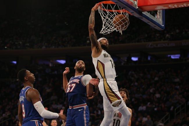 New York Knicks at New Orleans Pelicans - 4/14/21 NBA Picks and Prediction