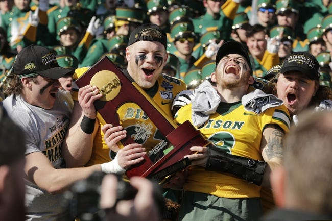 North Dakota State vs Youngstown State College Football Picks, Odds, Predictions 2/21/21