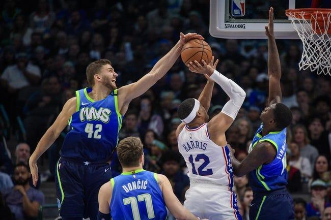 Philadelphia 76ers vs Dallas Mavericks NBA Picks, Odds, Predictions 2/25/21