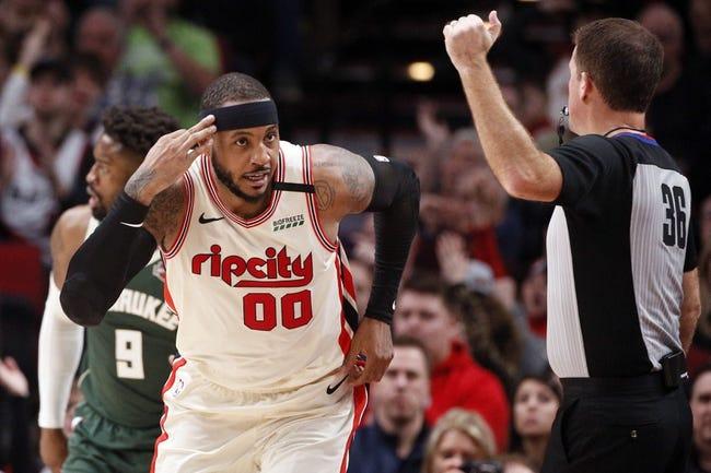 Milwaukee Bucks at Portland Trail Blazers - 4/2/21 NBA Picks and Prediction