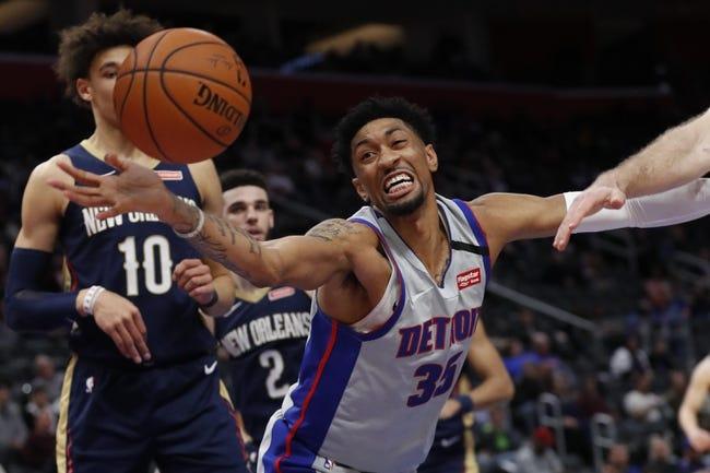 Detroit Pistons vs New Orleans Pelicans NBA Picks, Odds, Predictions 2/14/21